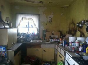 Hoarder Home - Non Working Kitchen