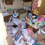 hoarded kitchen